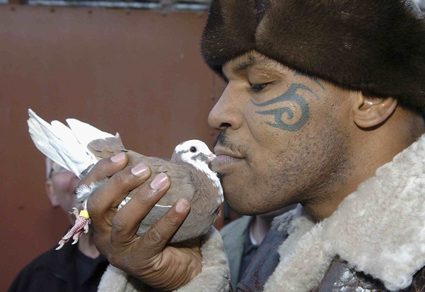 Mike Tyson's pigeon-racing show to debut in March