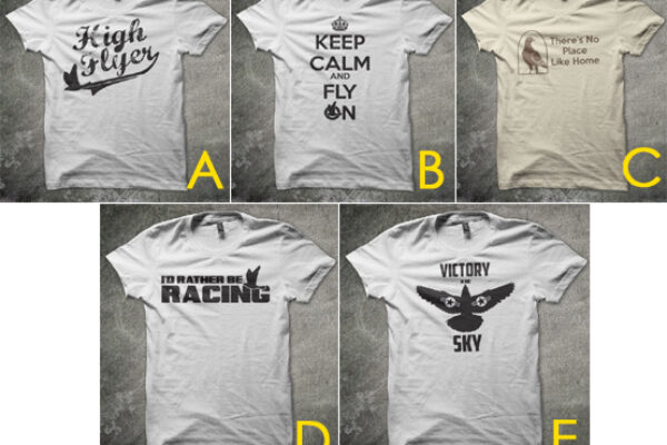 Vote for your favorite pigeon tee!