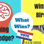 Winning Racing Pigeons or Winning Knowledge